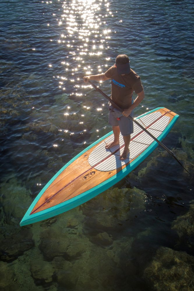 To Build A Board South Tahoe Craftsman Turns Paddleboards Into